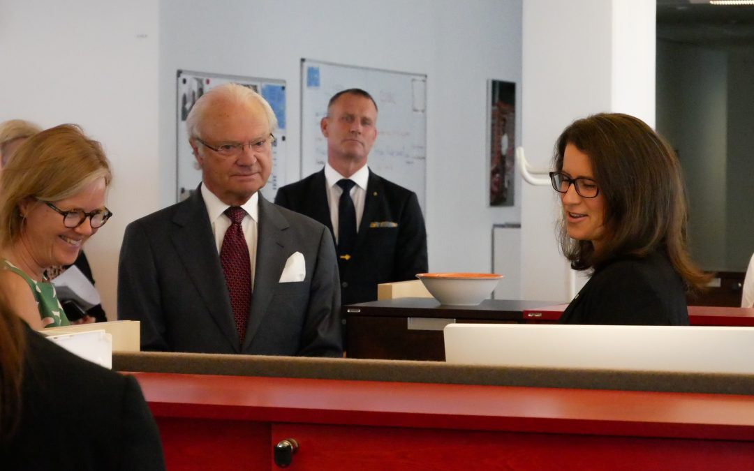 Royal Visit to SIDA in Stockholm