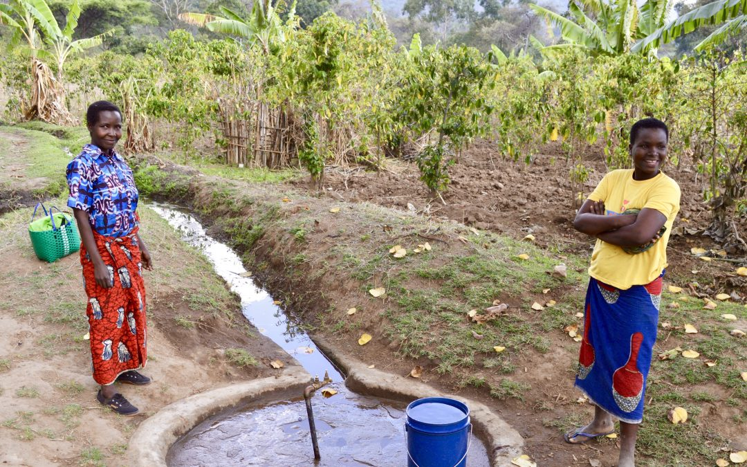 A community takes care of its own water supply